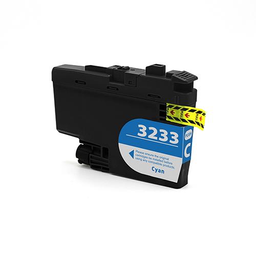 Cartuccia compatibile per Brother LC-3233 ciano 1500pag.