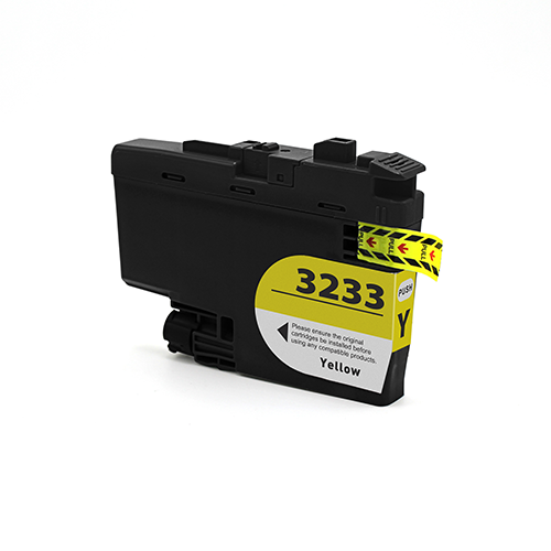 Cartuccia compatibile per Brother LC-3233 giallo 1500pag.