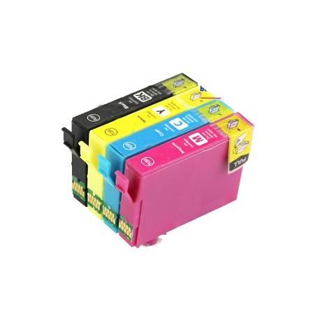 Cartuccia comp. per Epson WF 2860 T502XL giallo