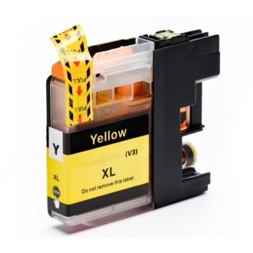 Cartuccia per Brother LC-22UY MFC-J985DW DCP-J785DW giallo 1200pag.