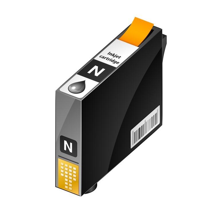 Cartuccia comp. per Epson WF-C579 C529 T01C100 nero ink pigmentato