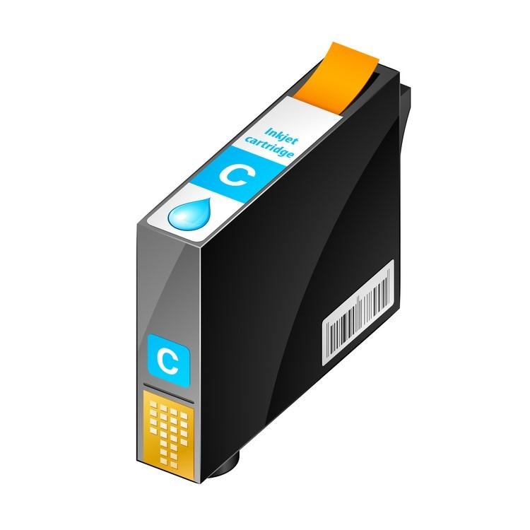 Cartuccia comp. per Epson WF-C579 C529 T01C200 ciano ink pigmentato