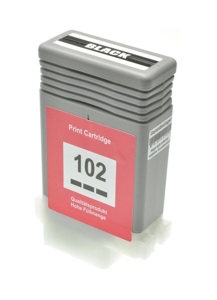 Cartuccia comp. per Canon PFI-102bk nero 0895B001 ink pigmentato