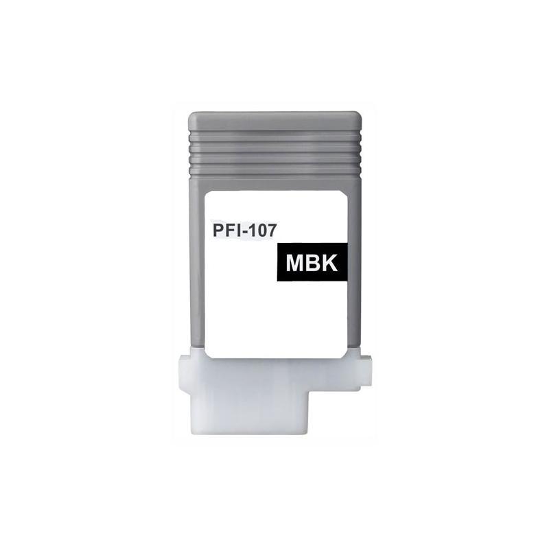 Cartuccia comp. per Canon PFI-107mbk nero opaco 6704B001 ink pigmentato