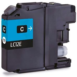 Cartuccia per Brother LC-12EC MFC-J5920DW ciano 1200pag.