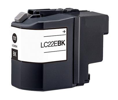 Cartuccia per Brother LC-22EBK MFC-J5920DW nero 2400pag.