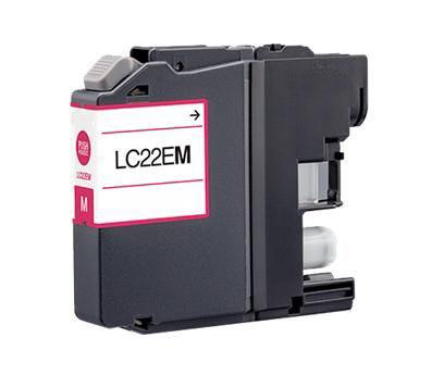 Cartuccia per Brother LC-22EM MFC-J5920DW magenta 1200pag.