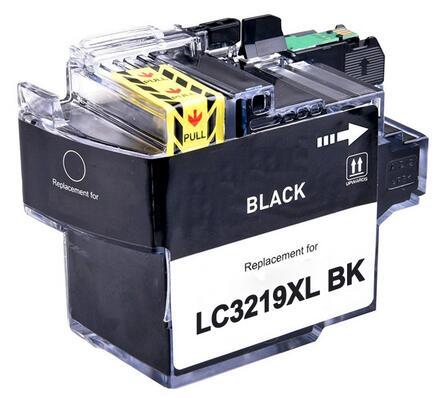 Cartuccia compatibile per Brother LC-3219 nero 3000pag.con chip aggiornato