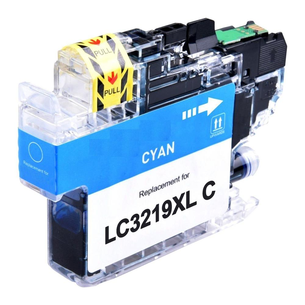 Cartuccia compatibile per Brother LC-3219 ciano 1500pag.con chip aggiornato