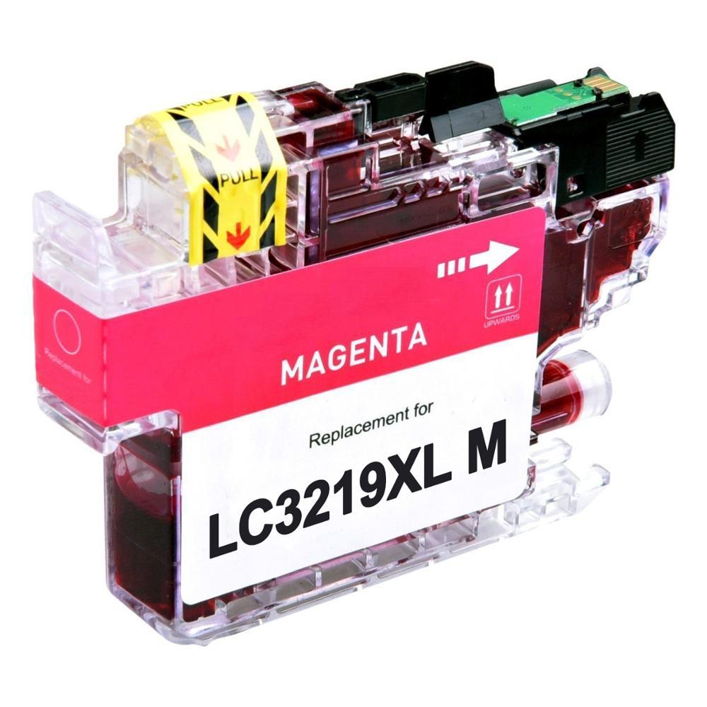 Cartuccia compatibile per Brother LC-3219 magenta 1500pag.con chip aggiornato