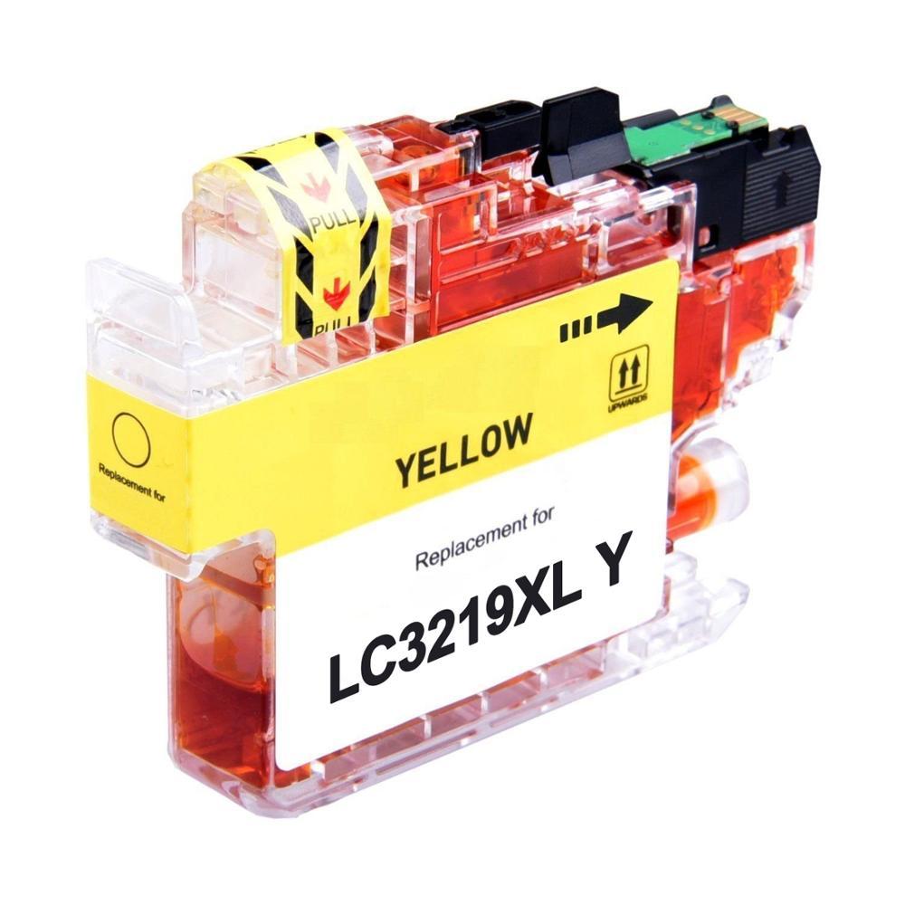 Cartuccia compatibile per Brother LC-3219 giallo 1500pag.con chip aggiornato