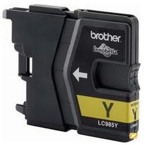 Cartuccia per Brother LC-985 giallo 12ml