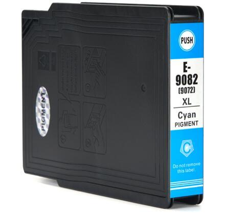 Cartuccia compatibile per Epson T9082 ciano