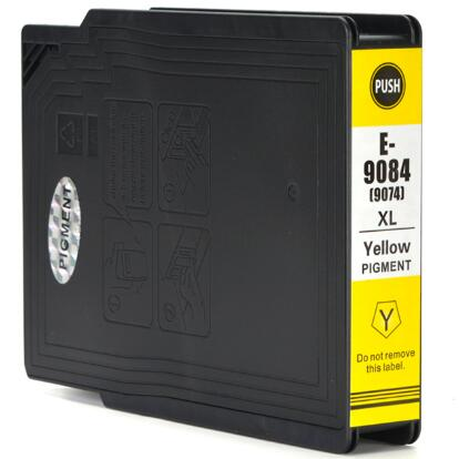 Cartuccia compatibile per Epson T9084 giallo