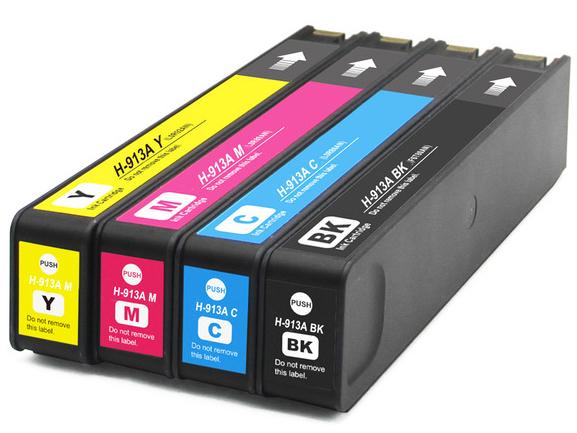 Cartuccia compatibile per HP 913 F6T77AE ciano 3000PAG.