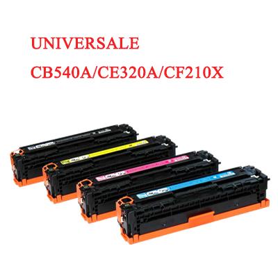 Toner universale per HP CB540A CE320A CF210X CANON 716 731 nero 2200PAG.