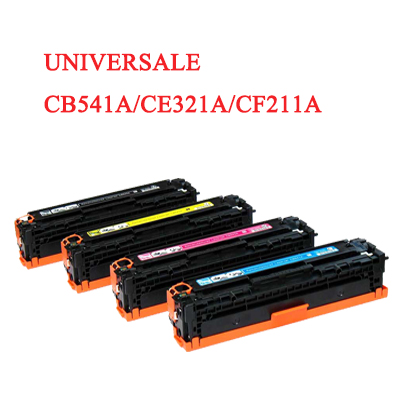 Toner universale per HP CB541A CE321A CF211A CANON 716 731 ciano 1400PAG.