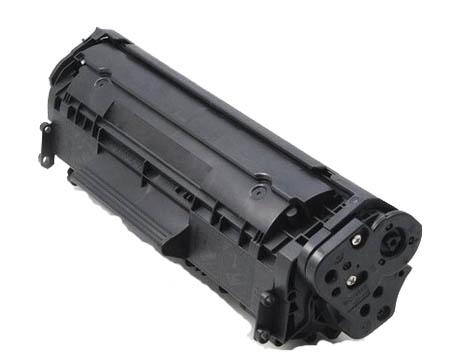 Toner universale per hp Q2612A canon FX10 CRG703 nero 2000pag.