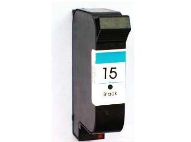 C6615DE Cartuccia rigenerata per HP 15 nero 500pag..