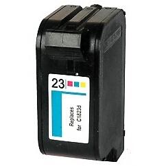 C1823D Cartuccia rigenerata per HP 23 colori 1200pag.