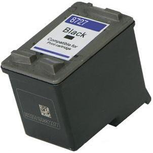 C8727AE Cartuccia rigenerata per HP 27 nero 440pag.