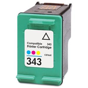 C8766E Cartuccia rigenerata per HP 343 colori 900pag.