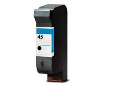 51645AE Cartuccia nuova compatibile per HP 45 nero visualizza livello inchiostro