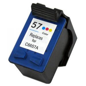 C6657A Cartuccia rigenerata per HP 57 colori 1100pag.