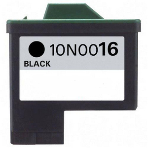 10N0016 Cartuccia rigenerata per LEXMARK 16 nero 350pag.