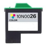 10N0026 Cartuccia rigenerata per LEXMARK 26 colori 640pag.