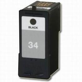 18C0033 Cartuccia rigenerata per LEXMARK 34 nero 550pag.