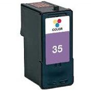 18C0035 Cartuccia rigenerata per LEXMARK 35 colori 800pag.