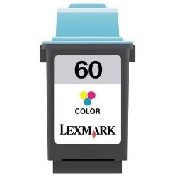 17G0060 Cartuccia rigenerata per LEXMARK 60 colori 1600pag.