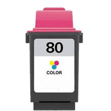 12A1980 Cartuccia rigenerata per LEXMARK 80 colori 1600pag.