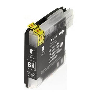 BK Cartuccia per Brother LC-980 LC-985 LC-1100 nero