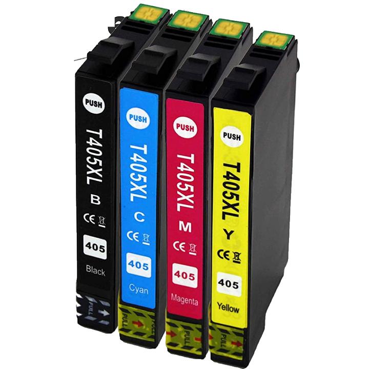 Cartuccia comp. per Epson WF-4820 WF-3820 T405XL giallo